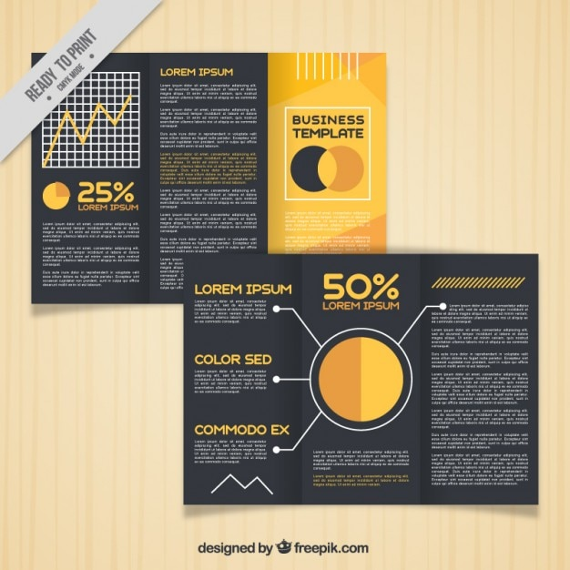 free trifold brochure templates
