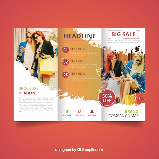 Brochure Vectors Photos And PSD Files Free Download - School brochure template free
