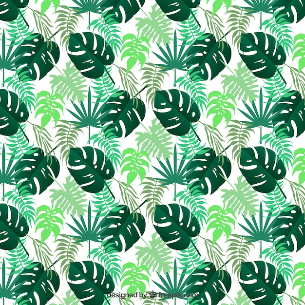 Tropical Leaves Pattern Vector Free Download Delectable Tropical Leaves Pattern
