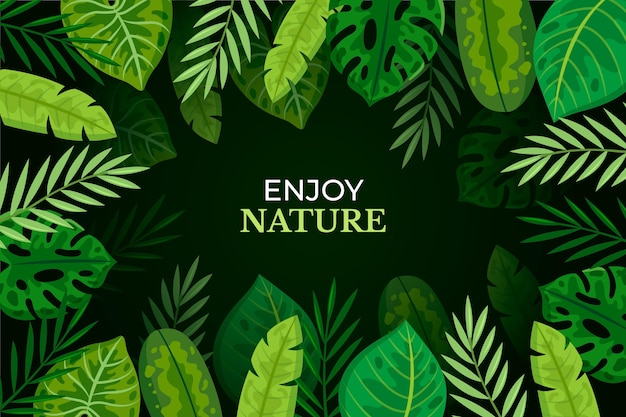 Free Vector Tropical Leaves Wallpaper Find the best free stock images about tropical leaves. free vector tropical leaves wallpaper