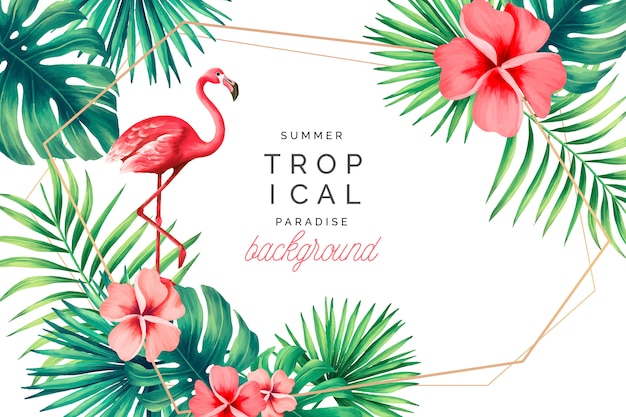Tropical Vectors, Photos and PSD files | Free Download