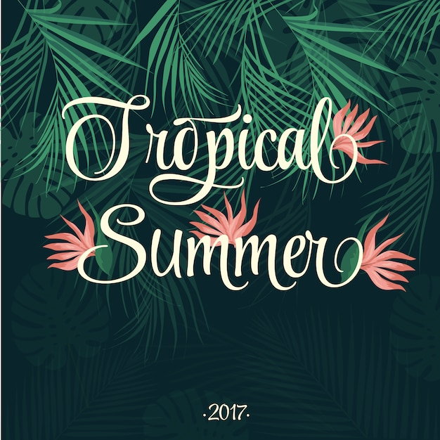 Tropical summer background | Stock Images Page | Everypixel