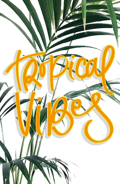 Tropical Premium Vector