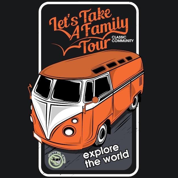True friend meet brother, vector car illustrations Premium Vector