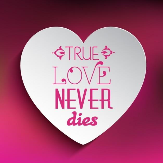 True Love Never Dies Background Vector Free Download