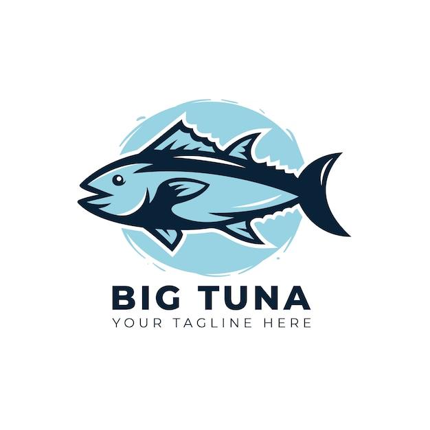 Tuna fish logo Premium Vector