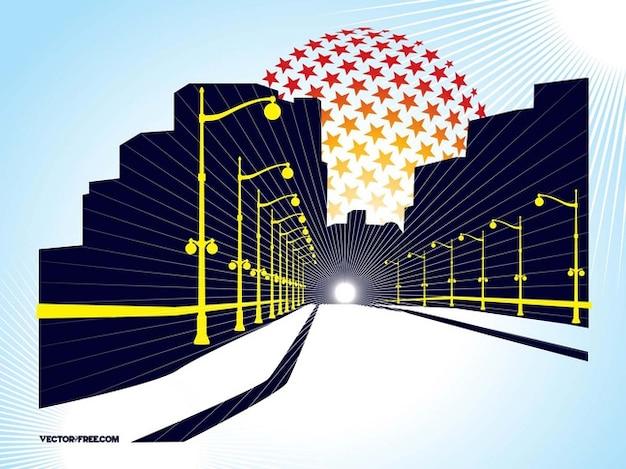 Tunnel vision architecture passage
