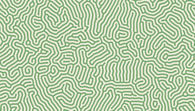 Turing pattern structure organic lines background design Free Vector