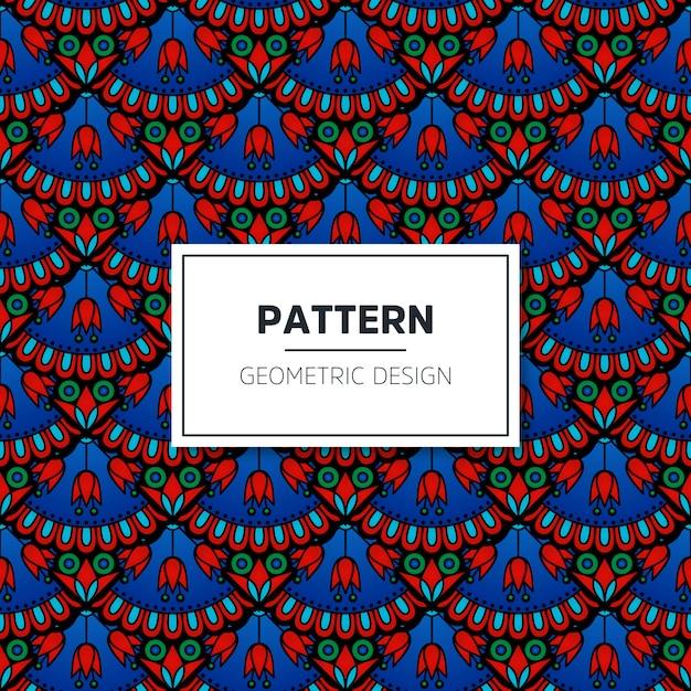 Turkish Seamless Pattern Vector Free Download Interesting Turkish Pattern