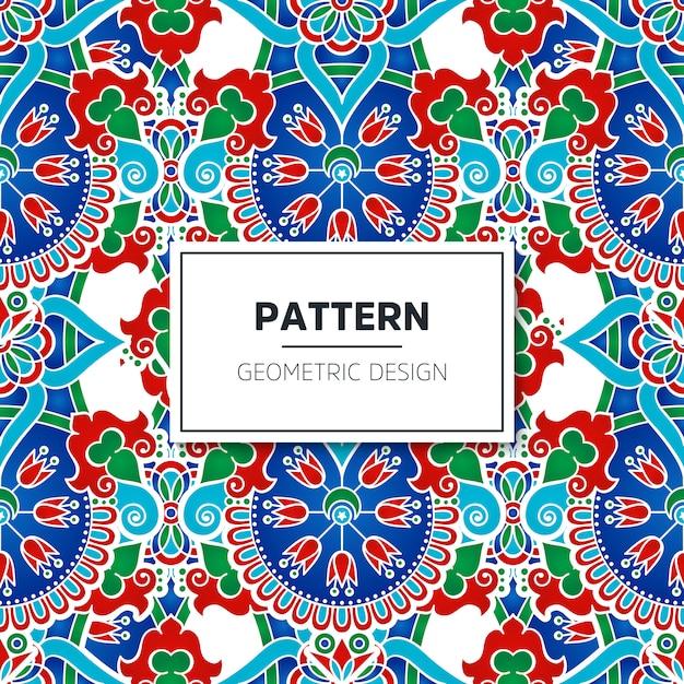 Turkish Seamless Pattern Vector Free Download Mesmerizing Turkish Pattern