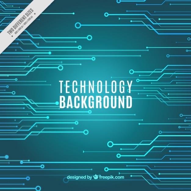 Turquoise technology background