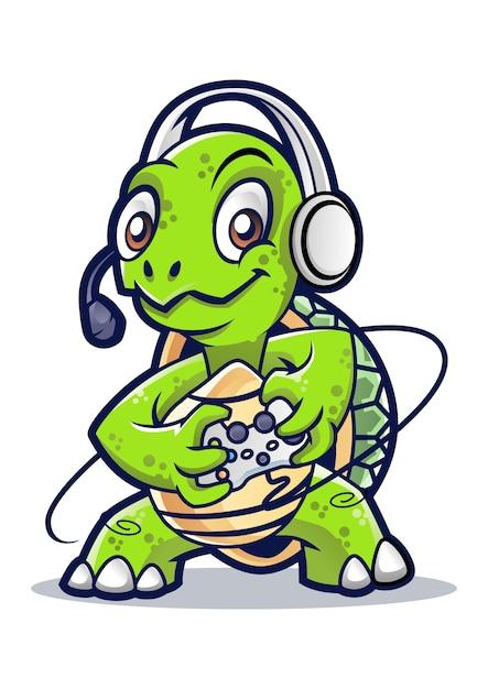 Дизайн татуировки в черепахе Premium векторы