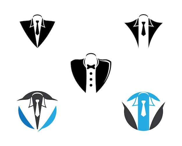 Tuxedo symbol illustration Premium Vector