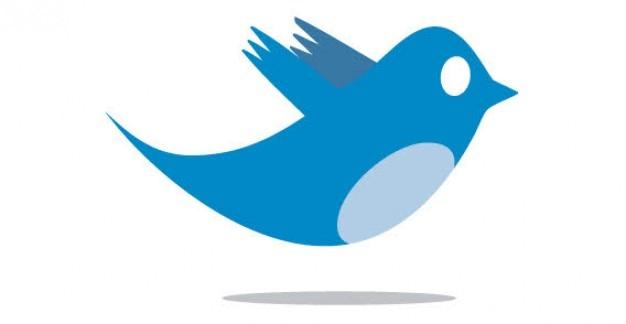 Twitter bird Free Vector