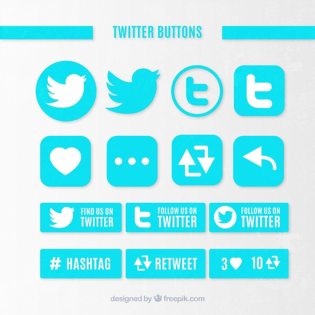 how to make twitter icons