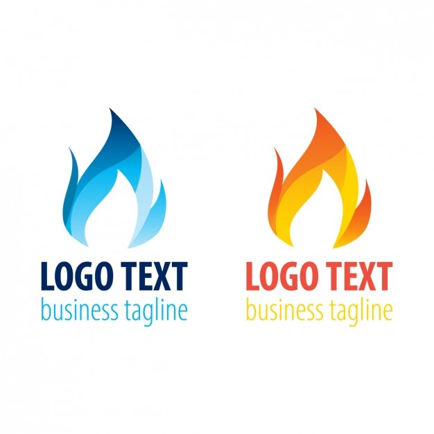 Two flame logo templates vector free download two flame logo templates free vector flashek Images
