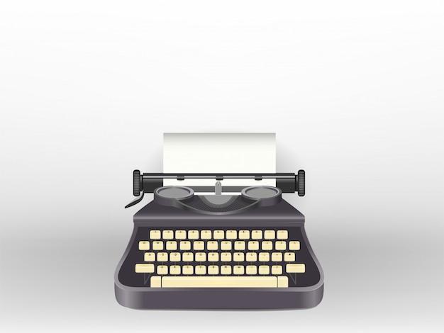 Typewriter Premium Vector