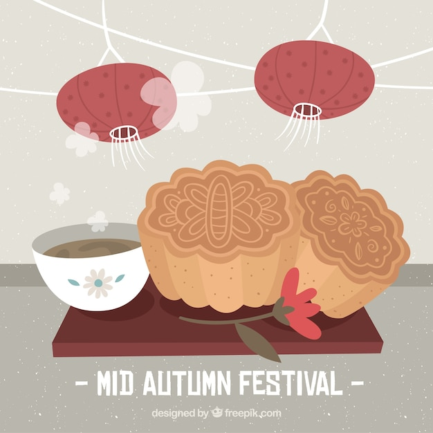 Typical foods, mid autumn festival