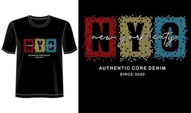 プリントtシャツなどのタイポグラフィデザイン Premiumベクター