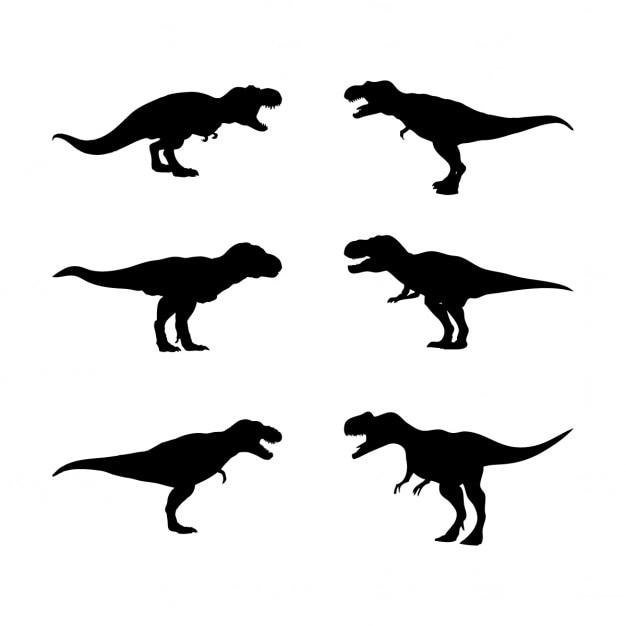 Tyrannosaurus rex, sil...