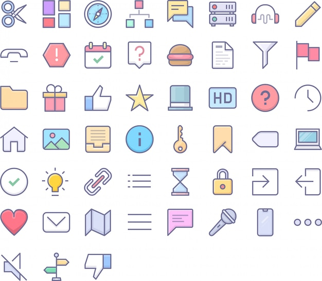 Ui icon pack Vector | Premium Download