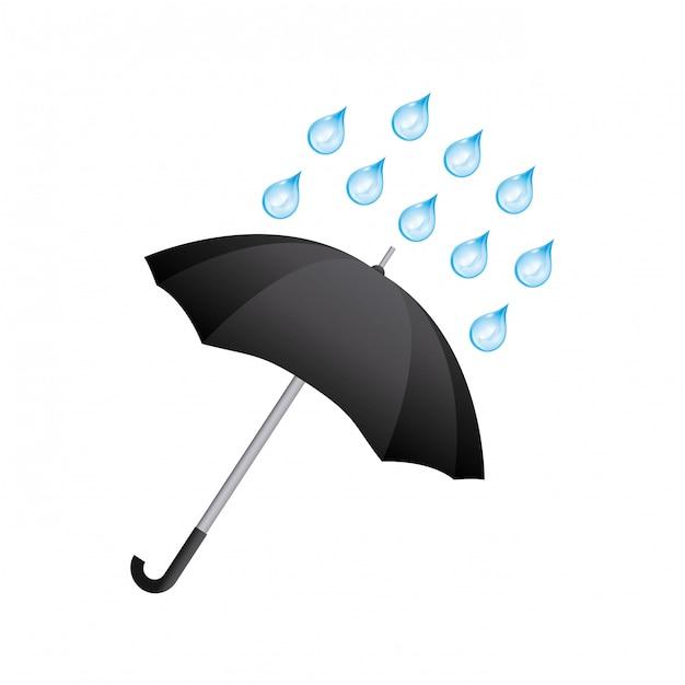 Umbrella icon Premium Vector