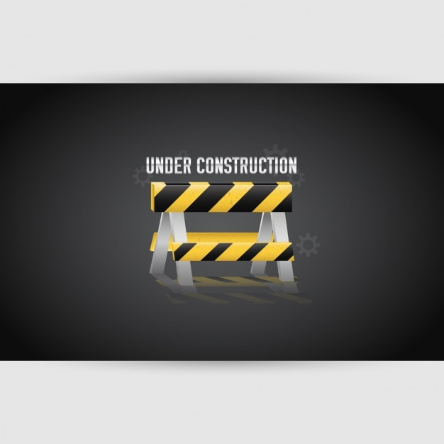"""under construction"" design Vector 
