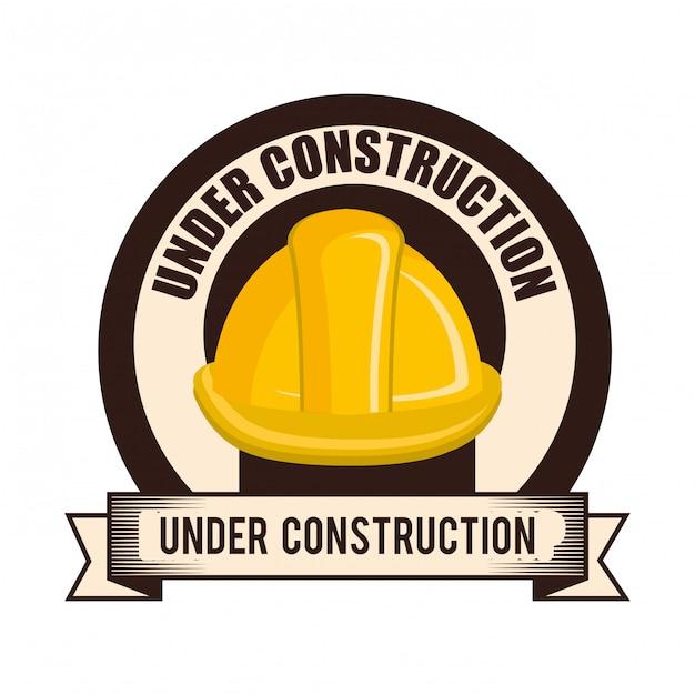 建設中のイラスト 無料ベクター