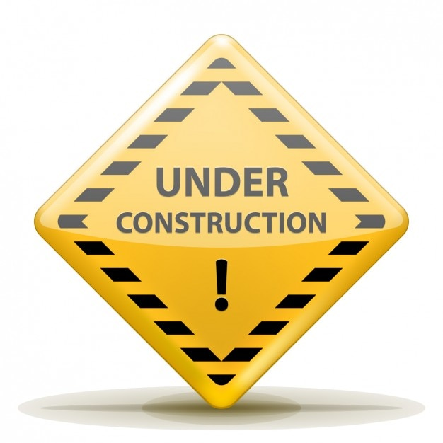 Under construction sign Vector | Free Download