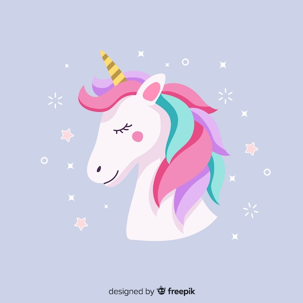 Unicorn Premium Vector