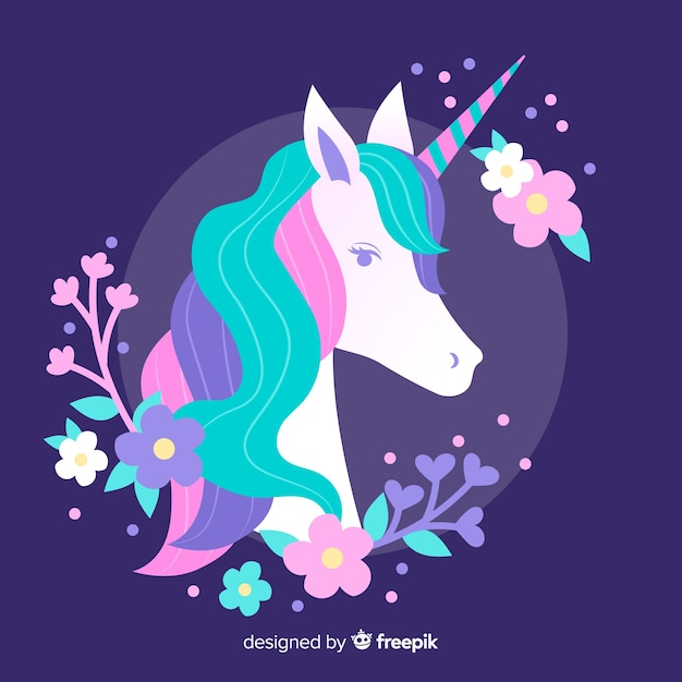 Unicorn Free Vector