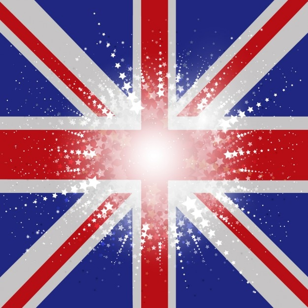 Union jack flag background vector free download for Sessel union jack