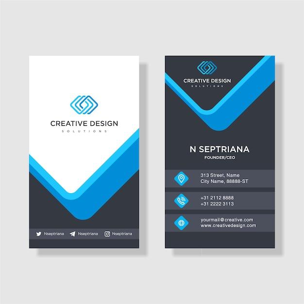 Unique business card design vector premium download unique business card design premium vector reheart Gallery