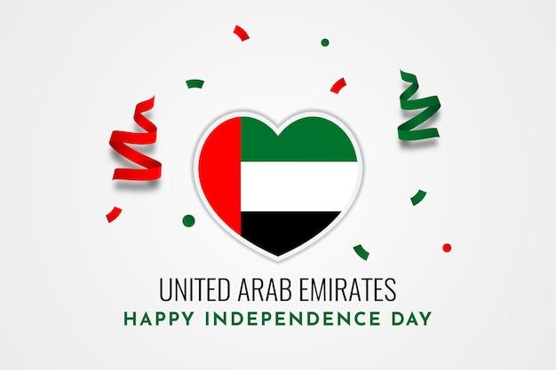 Дизайн шаблона иллюстрации дня независимости объединенных арабских эмиратов Premium векторы