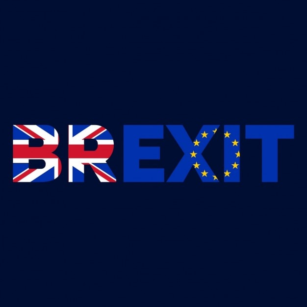 United kingdom leaving and exiting european union Free Vector