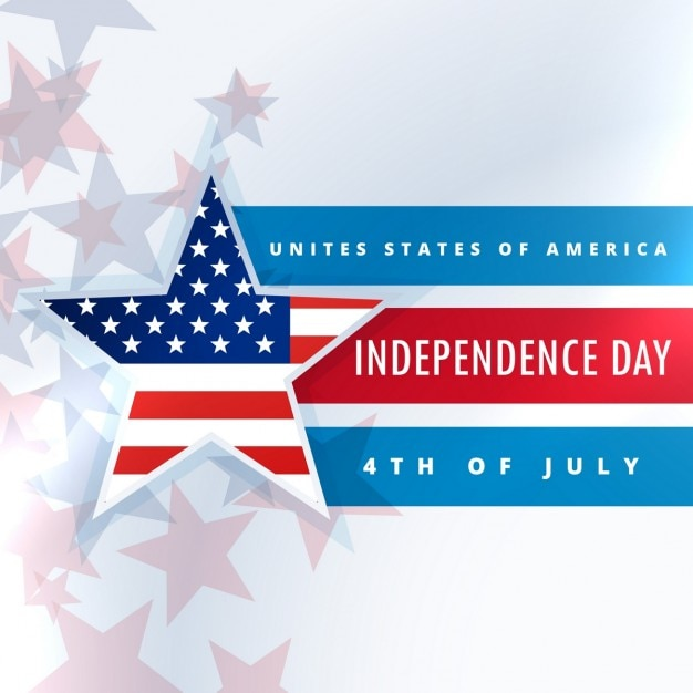 United states of america independence day Free Vector