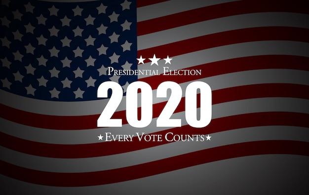 Президентские выборы в соединенных штатах америки. Premium векторы
