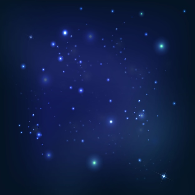 Universe space Free Vector