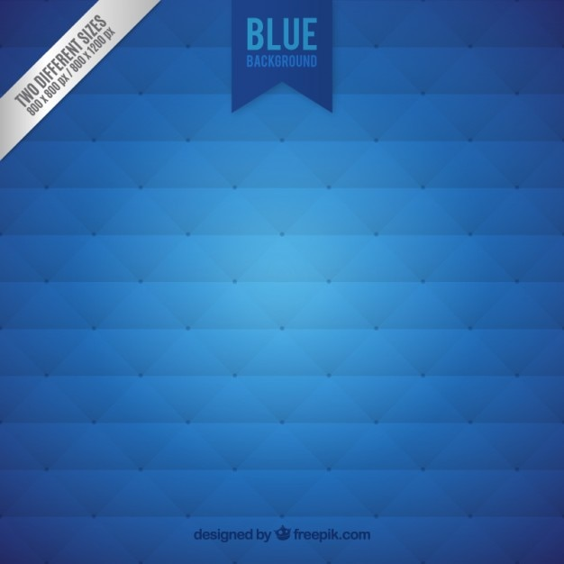 Upholstery background in blue color Free Vector