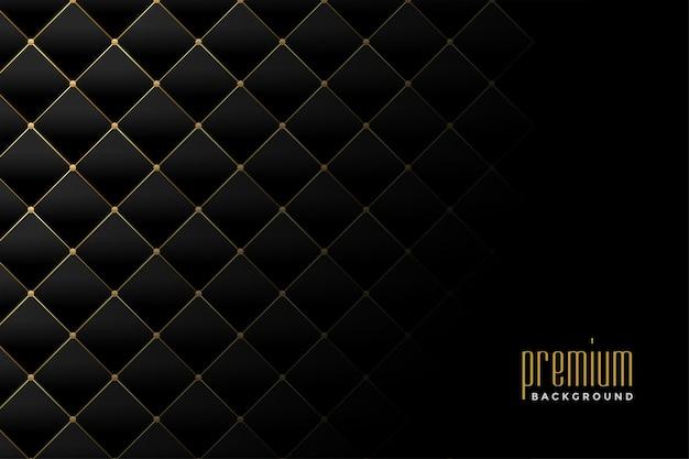 Обивка золотой роскошный ромбовидный узор фона дизайн Бесплатные векторы