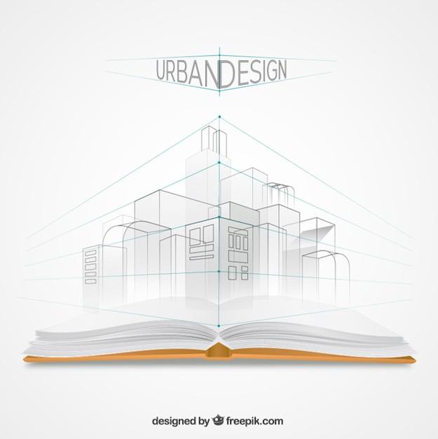 Urban design Free Vector
