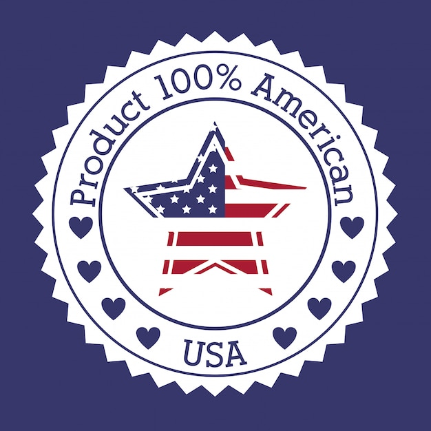 Usa design Premium Vector