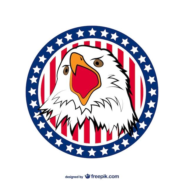 usa eagle vector vector free download rh freepik com usa eagle symbol vector American Eagle Vector