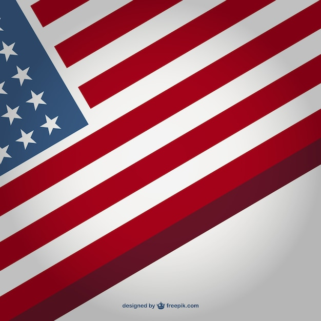 usa flag background vector free download