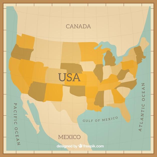 Usa map design vector free download for Map designer free