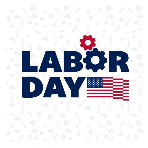 Usa pattern labor day background