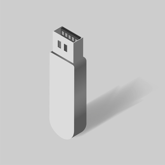 Usb device Free Vector