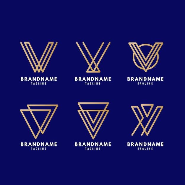 Confezione logo v. Vettore gratuito