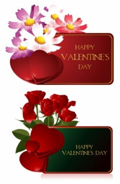Valentine greeting cards pack