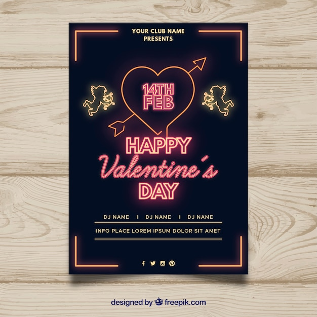 Valentine party invitation vector free download valentine party invitation free vector stopboris Images